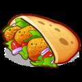 🥙 Pão achatado recheado