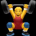 🏋️♂️ Homme soulevant des poids